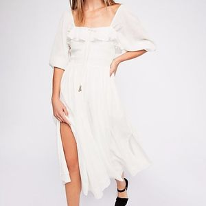 Free People Oasis Midi Dress